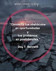 convierte tus obstáculos